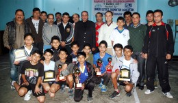 Closing Ceremony of Inter school Badminton championship